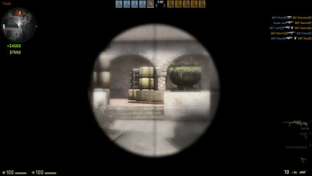 The new rifle scope in CS:GO