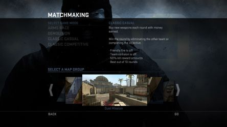 CS:GO Classic Casual Game Mode