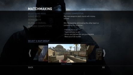 CS:GO Classic Competitive Game Mode